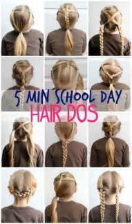 5 minute school day hair styles fynes designs fynes