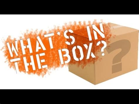 challenge box whats in the box challenge