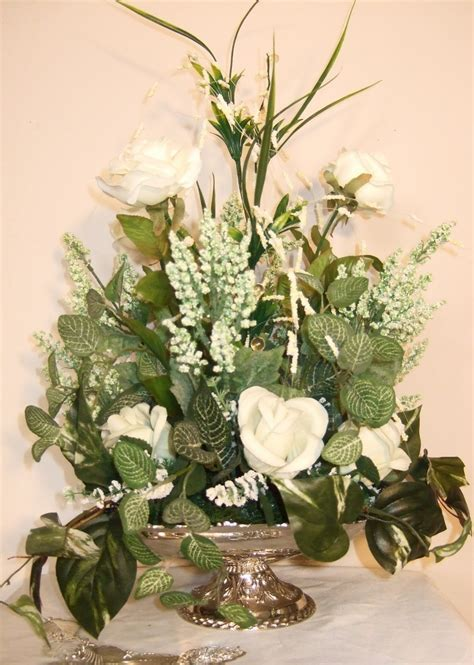 Silk Flower Arrangements by Silk Flowers Pictures Silk Flowers White