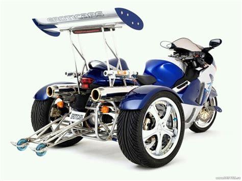 beefed up 3 wheel suzuki hayabusa motorcycles