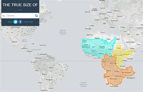 true size map lets  move countries