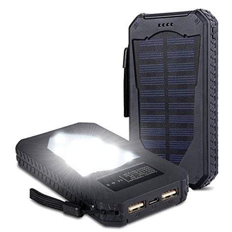 Power Bank Solar Cell 15000mah foreverrise solar charger 15000 mah high capacity solar panel power bank portable battery pack
