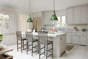 Gray Kitchen With White Cabinets by Gray Shaker Kitchen Cabinets Design Ideas