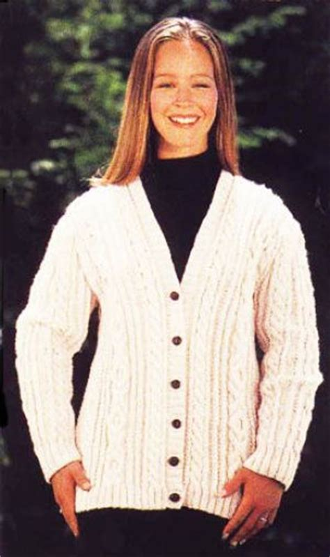 knitting pattern aran cardigan 15 best images about women s hand knit irish sweaters on