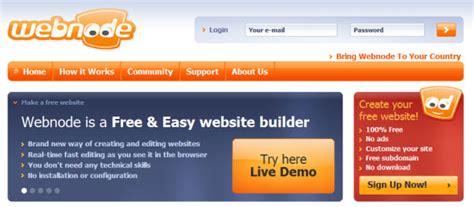 30 Free Website Builders Create A Stunning Free Website Online Webnode Free Templates