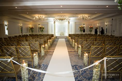 Wedding Ceremony New York by Exquisite Decor Events Floral Designers