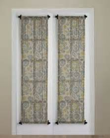 Tension Rods For Curtains Extra Long 1000 Ideas About French Door Curtains On Pinterest Door