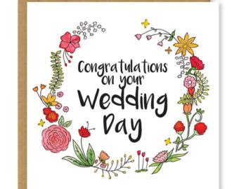congratulations on your wedding card template wedding card personalised congratulations to the and