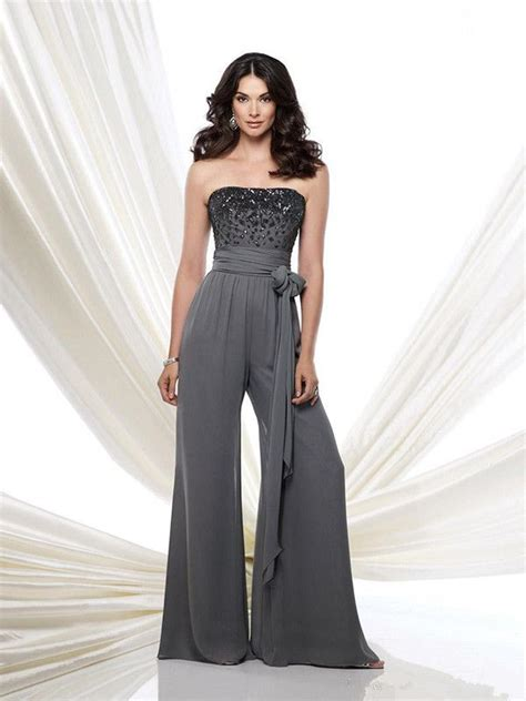 Formal Wedding Attire Jumpsuit by Aliexpress Buy Of Pant Suit Chiffon