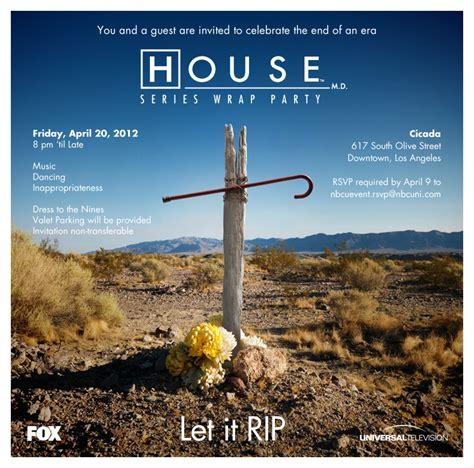 house season 8 house season 8 poster series wrap party house m d photo 30618918 fanpop