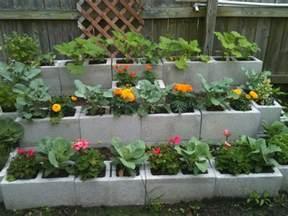 Cinder block garden ideas furniture planters walls and decor