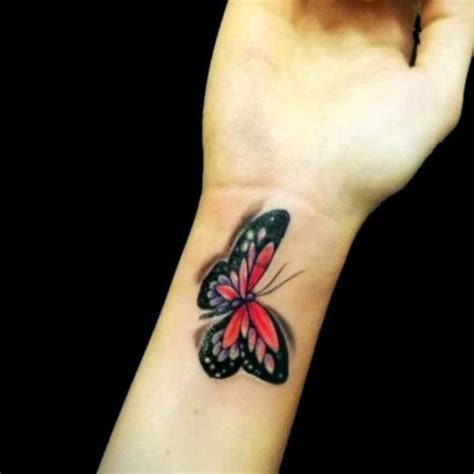 tattoo 3d wrist 43 awesome butterfly tattoos on wrist