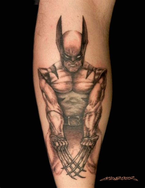 wolverine tattoo 10 wolverine designs