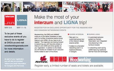how to make the most of networking opportunities small make the most of your interzum and ligna trip
