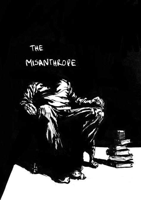 the misanthrope in a the misanthrope rupert smissen illustration