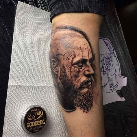 ragnar tattoo imbrucethelightnink ragnar ragnar lothbrok