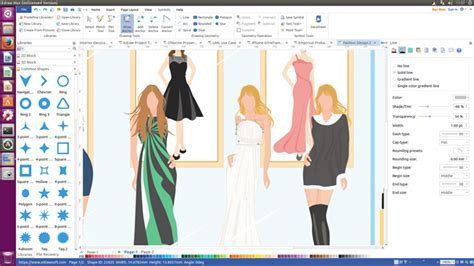 design fashion program free stylish fashion design software for linux design your