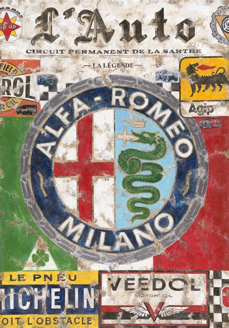 vintage alfa romeo logo ferencz olivier alfa romeo