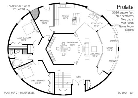 dome house floor plans image