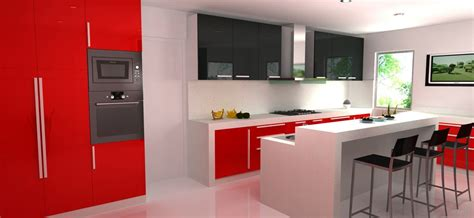 design your own kitchen using combination of white and