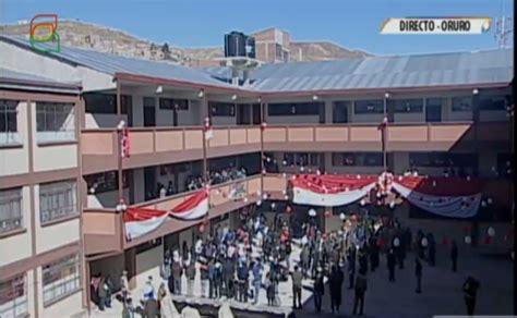 imagenes educativas de bolivia colegio aniceto arce de oruro inaugura nueva