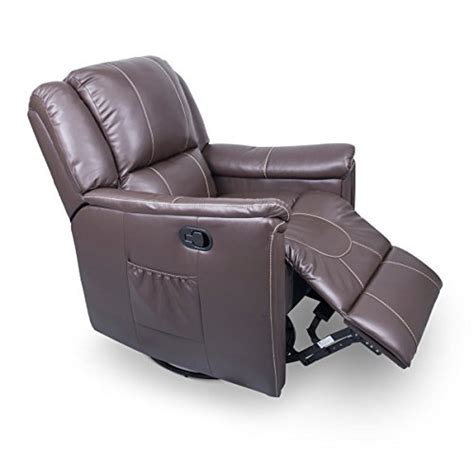 Recliners Parts by Payne 377710 Majestic Chocolate Swivel Glider