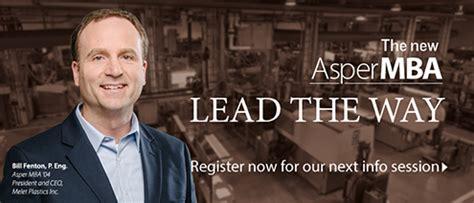 Asper Mba by Of Manitoba Marketing Communications Office