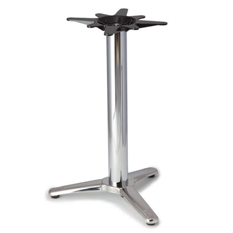 Patio Table Base Patio 3 Aluminum Table Base Tablebases Quality Table Bases Metal Table Legs