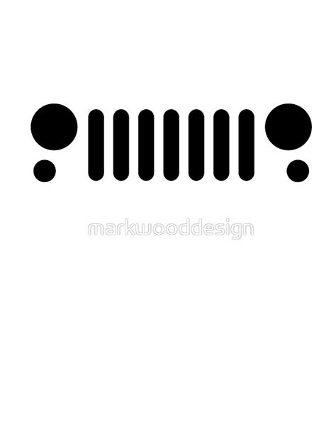 jeep grill logo vector jeep grill svg images
