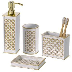 diamond bathroom set top 10 best stylish bathroom accessories in 2018 topreviewproducts