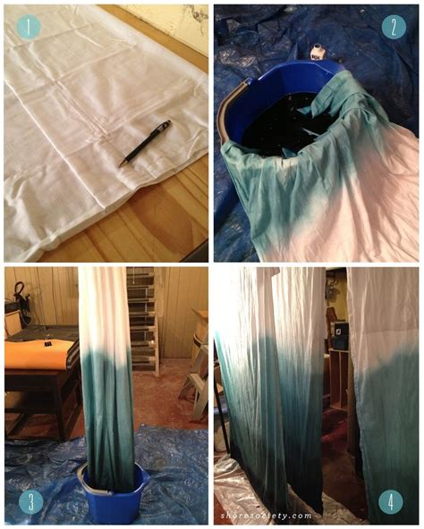 diy ombre curtains best 20 ombre curtains ideas on pinterest make curtains