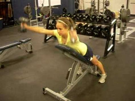incline bench front raise incline bench y raise youtube