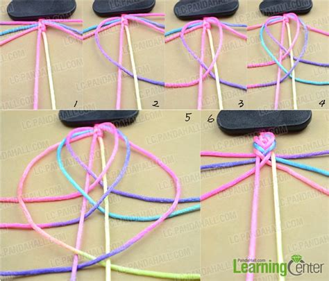 Step By Step String - step by step friendship bracelet patterns how to make