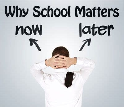 Does Your Mba School Matter by Why Does School Matter Effective Answers For High School