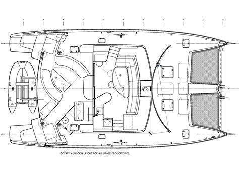 catamaran hull dimensions 451