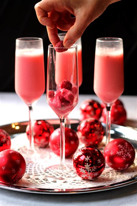 celebrate the new year with a fizzy raspberry lime sparkler at raspberry mimosa