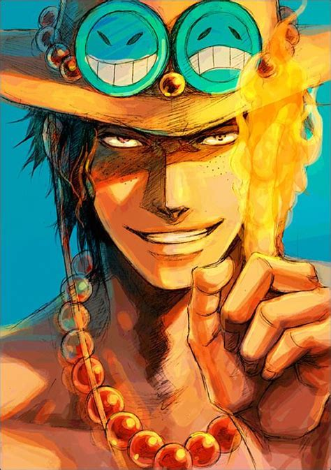 one piece ace pirates top five and one piece ace on pinterest