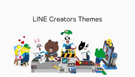 line theme create line new quot line creators themes quot lets line users create