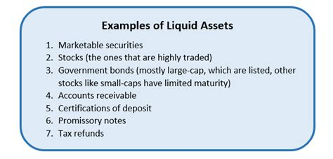 exle of liquid assets liquid assets meaning exles of liquid assets how to