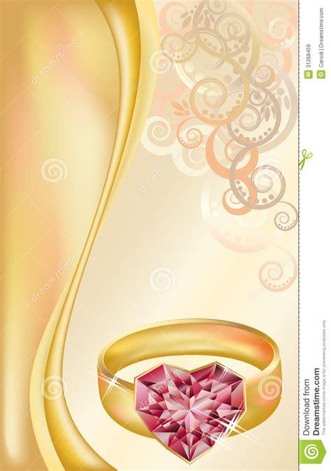 design carte d invitation carte d invitation de mariage avec l anneau d or