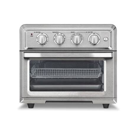 toaster oven with light inside cuisinart toa 60 air fryer toaster oven with light silver
