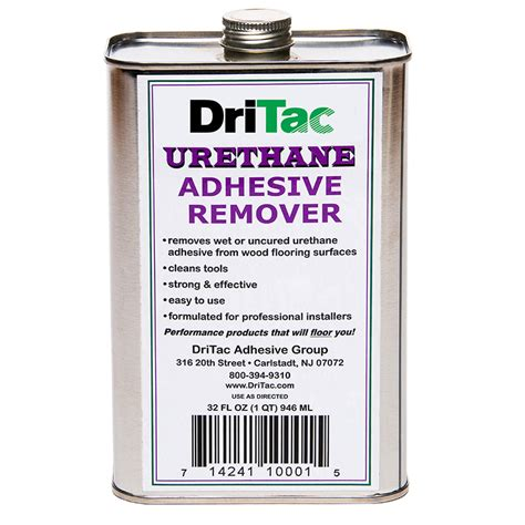 liquid urethane adhesive remover for wood flooring dritac