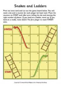 printable snakes and ladders template board