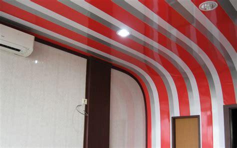 wallpaper awan untuk plafon til mewah dengan variasi permainan dinding plafon pvc