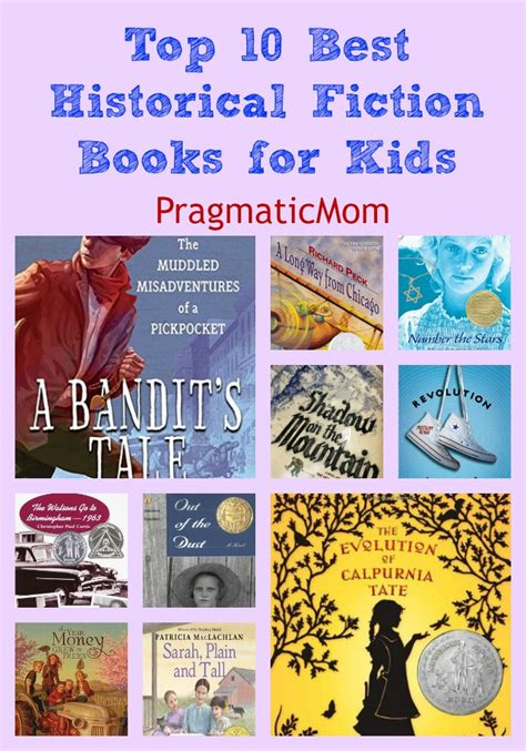 10 Best Childrens Of 2009 by Top 10 Best Historical Fiction Books For Giveaway