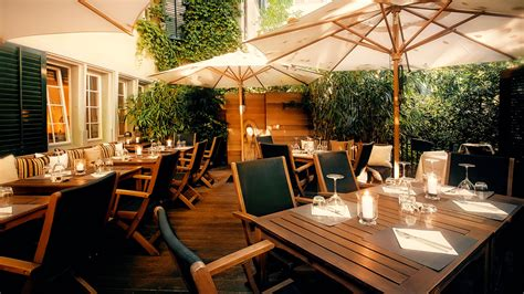 the 10 best restaurants in zurich - Terrasse Zürich