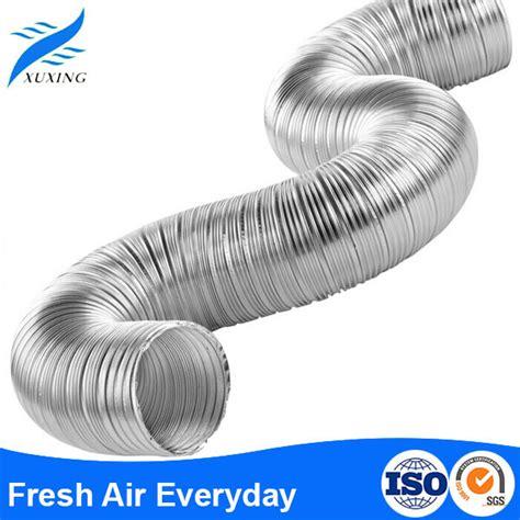 Selang Fleksibel Aluminium ac semi kaku aluminium foil saluran fleksibel selang