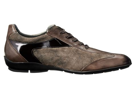 sport dress shoes mezlan s sport dress crossover lace up mocha