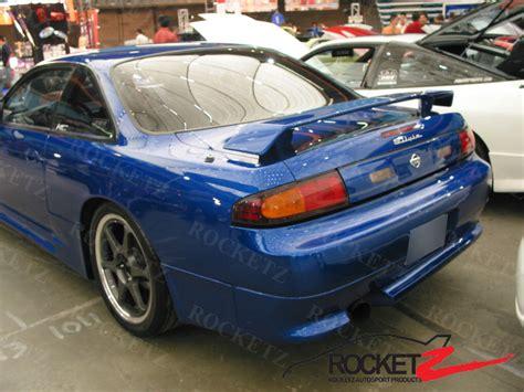 nissan 240sx spoiler 95 98 240sx s14 jdm nismo style trunk spoiler rear