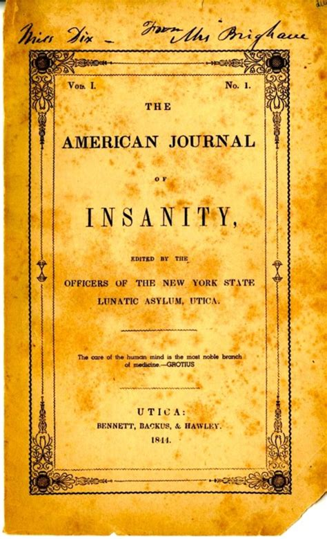 a study of association in insanity classic reprint books american journal of insanity indians insanity and
